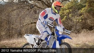 6. MotoUSA Project Bike:  2012 Yamaha WR250F