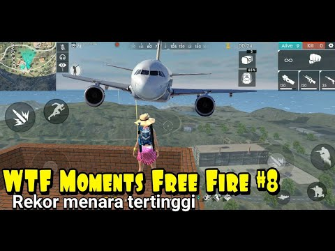 WTF Moments Free Fire #8 Rekor Menara Tertinggi