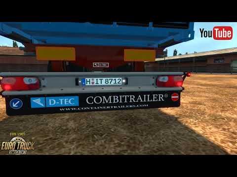 D-TEC Combitrailer by Peerke145 1.31