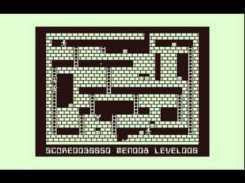 【PC 6001版】ロードランナー(システムソフト)【レトロゲーム】