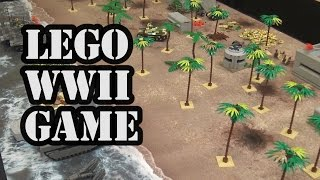 LEGO WWII Group Combat Game at World War Brick 2017