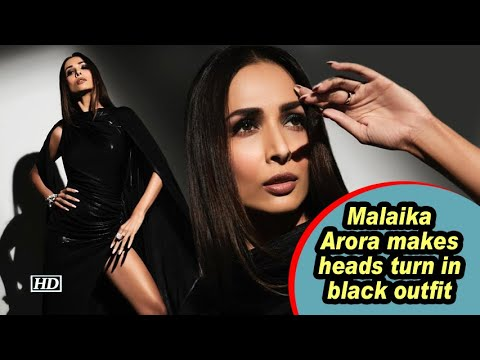 Malaika Arora makes heads turn in black outfit