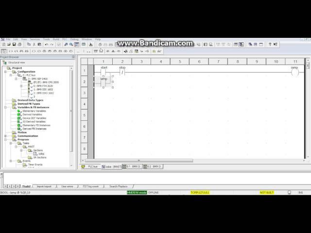 Belajar Wiring Diagram Plc : Belajar plc schneider unity pro xl ladder diagram and
