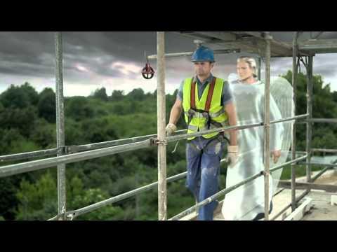 Bezpieczna praca na wysokości, zobacz spot TV 2011www.bezupadku.pl