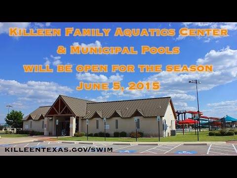 Killeen Family Aquatics Center & Pools Promo