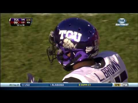 LaDarius Brown 46-yard touchdown vs Iowa St. 2013 video.