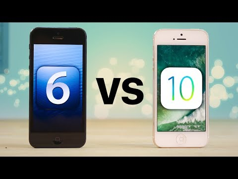 RIP iPhone 5 - iOS 6 vs 10 Final Speed Test