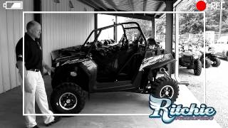 1. 2013 Polaris RZR XP 900 Evasive Green LE