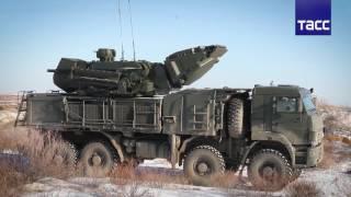 """Новейшие комплексы ПВО """"Панцирь-С1"""" прибыли в Западную Сибирь"""