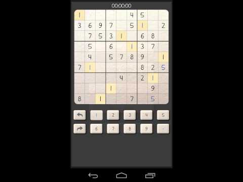 Video of Sudoku