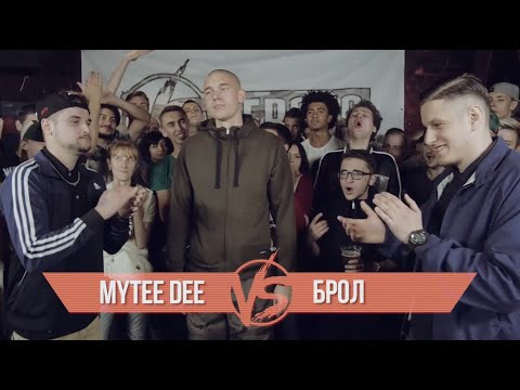 VERSUS BATTLE #2 Ссезон 3: Mytee Dee vs Брол (2015)