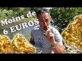 COMMENT TROUVER DE L'OR AVEC MOINS DE 6 EUROS DE MATOS ORPAILLAGE RIVIERE EN  🇫🇷 FRANCE 🇫🇷