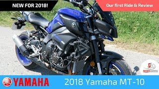 3. 2018 Yamaha MT 10 | Our first ride & review
