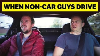 How You React When Non-Car People Drive by Car Throttle