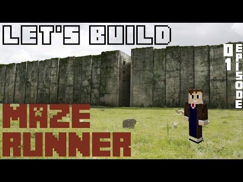 Minecraft | Let's Build: Maze Runner | Episode 01