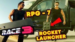 Video Salman Khan RACE 3 EPIC SCENE   Weapon Used By Salman Khan   RPG - 7 Rocket Launcher   FULL DETAILS MP3, 3GP, MP4, WEBM, AVI, FLV Mei 2018