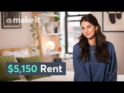Living In A $5,150/Month Apartment In NYC | Unlocked