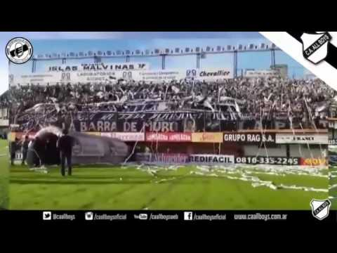 Espectacular recibimiento de la gente de All Boys ante Nueva Chicago - La Peste Blanca - All Boys