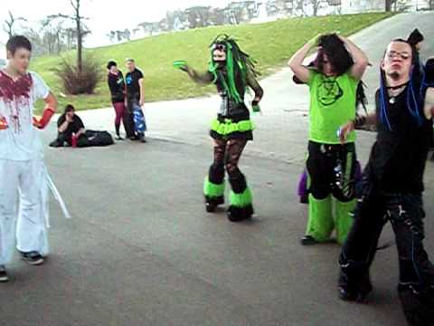 Cyber Goth Dance Party
