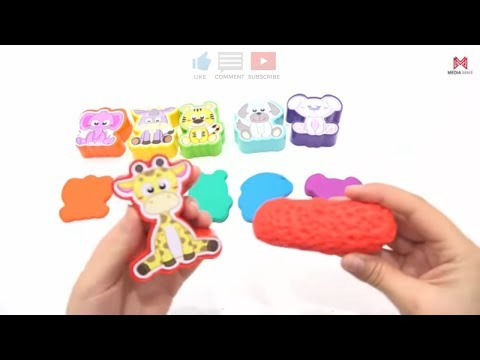 Animal Molds with PLAY DOH. For Kids Videos 👍 #preschool