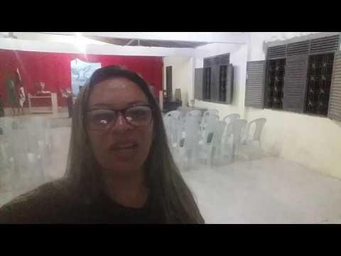 Congregação pau darco com missionária Vitória Medeiros