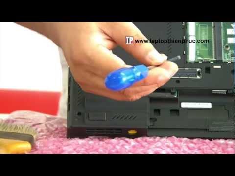 Hướng dẫn vệ sinh lắp ráp IBM THINKPAD T420