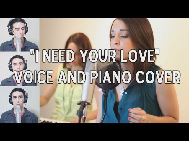 Calvin Harris Ft Ellie... Calvin Harris I Need Your Love Album Cover