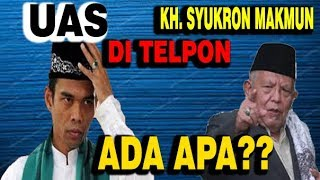 Video UAS DI TELPON KH  SYUKRON MAKMUN * ADA APA?? MP3, 3GP, MP4, WEBM, AVI, FLV Juni 2019