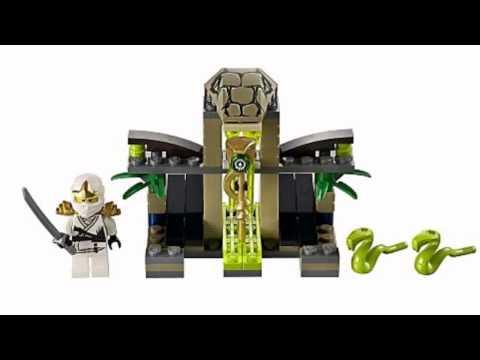 Video YouTube analysis of the Ninjago Venomari Shrine 9440