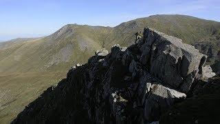 Britain's Mountain Challenges: Llech Ddu Spur scrambling by teamBMC
