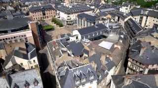 Rodez France  City new picture : Rodez vue du ciel - Midi Pyrénées (Vidéo complète - Full HD)