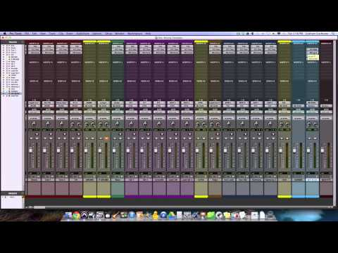 Mixing Console Templates In Your DAW – TheRecordingRevolution.com