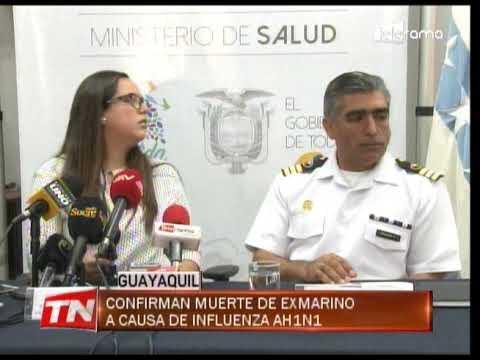 Confirman muerte de ex marino a causa de influenza AH1N1