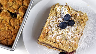 New Jersey Style Blueberry Crumb Buns || Gretchen's Bakery by Gretchen's Bakery