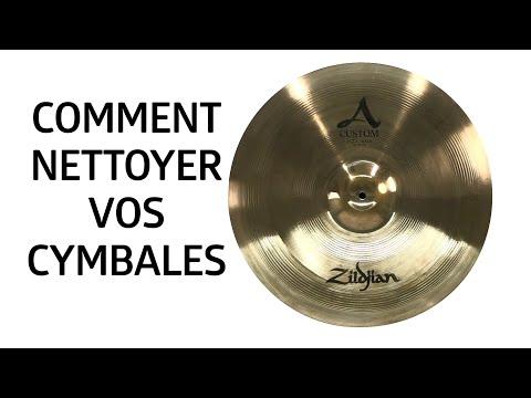 Un tuto pour nettoyer correctement vos cymbales Zildjian (La Boite Noire)