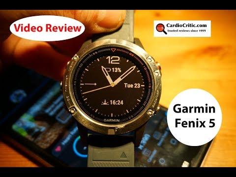 Garmin Fenix 5 Video Review - 2018 Best GPS All Performance Watch