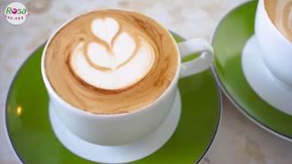 Nghệ thuật Latte Art - Dạy nghề Rosa