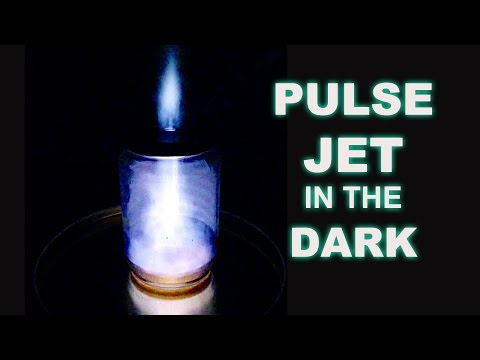 Ever Seen A Pulse Jet In A Jar?