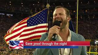 Drake White - National Anthem (Bears vs. Packers)