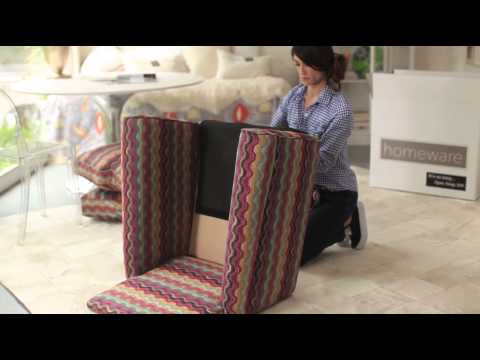 Hartley Upholstered Accent Chair Assembly
