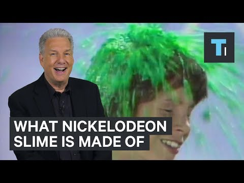 Here's what Nickelodeon slime is made of