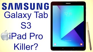 Samsung Galaxy Tab S3 Hands on review - The Ultimate Apple iPad Pro Killer? This may be the best Samsung's tablet yet. Check out Techmagnet: https://www.youtube.com/user/ITXtutor Check out Techmagnet: https://www.youtube.com/user/ITXtutor↓↓↓↓↓↓↓↓↓↓↓ CLICK SHOW MORE for more information! ↓↓↓↓↓↓↓↓↓↓↓-----------------------------------------------------------------------------------------------Welcome to TechLineHD. I review tech products that I love. Official TechLineHD email: techlinehd@gmail.comSUBSCRIBE TO THE CHANNEL: http://geni.us/OISk https://www.youtube.com/c/techlinehd -----------------------------------------------------------------------------------------------Support my channel by shopping on Amazon using my link: http://geni.us/YAqYYTD-----------------------------------------------------------------------------------------------100% RELIABLE websites to buy from China:Gearbest: https://goo.gl/JHQNvABanggood: https://goo.gl/gX7SycTomtop: https://goo.gl/u7gtKyEverbuying: https://goo.gl/3048mvChinavasion: https://goo.gl/K1Onav-----------------------------------------------------------------------------------------------CHECK OUT THESE VIDEOS:The Best Smartphone You've Never Heard Of (2016) - Nubia Z11 Review (4k): https://youtu.be/U8lO02DpqyoOnePlus 3T Review - The Best $439 Smartphone?: https://youtu.be/lSAjwXlbgQ8Xiaomi Redmi 4 Prime Review - Awesome Budget Smartphone. Again.: https://youtu.be/otJ_e1VZsMYThe Most Underrated Cheap Android Phablet? PPTV King 7 Review:https://youtu.be/tu1NFw0VJAw-----------------------------------------------------------------------------------------------Follow me on social networks:Facebook: www.facebook.com/TechlineHDTwitter: @TechlineHDGoogle+: +TechLineHDInstagram: techlinehd-----------------------------------------------------------------------------------------------The camera gear that I use to produce my videos:CAMERAS:1. Panasonic G7 with 14-140 mm Lens Kit:  http://geni.us/Rlwng2. Canon 600D/Rebel T3 with EF-S 18-5
