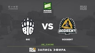 BIG vs GODSENT, game 1
