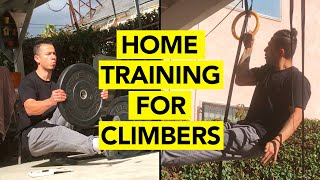 Training for Climbing During Self-Quarantine and Isolation   BEST for LOCK-OFF STRENGTH! by  rockentry