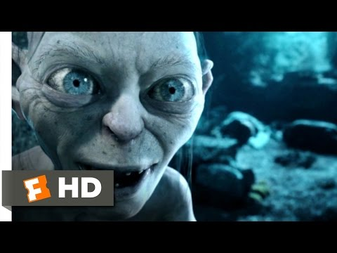 Gollum - LOTR: The Two Towers Movie Clip - watch all clips http://j.mp/y5iYBs Buy Movie: http://j.mp/trWhXp click to subscribe http://j.mp/sNDUs5 Smeagol (Andy Serkis...