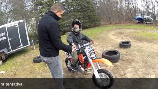 2. 2013 KTM 65 sx first ride