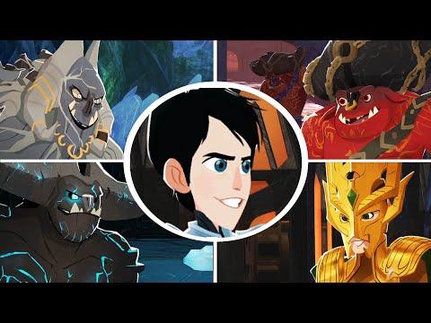 Trollhunters Defenders of Arcadia - All Bosses