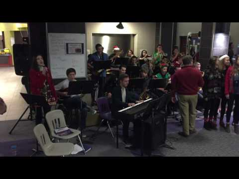 Libby Schnepf and Jackson High School Jazz Band Perform Christmas