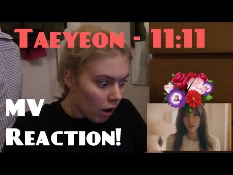 Taeyeon/태연 - 11:11 MV Reaction - Hannah May (видео)