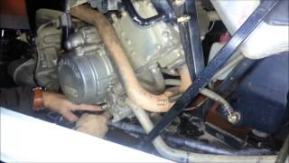 8. Fluid Change on a 2012 Polaris Sportsman 500 H.O.